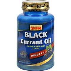 HGR0263640 - Health From The SunHealth From the Sun Black Currant Oil - 1000 mg - 60 Softgels
