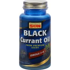 HGR0263665 - Health From The SunHealth From the Sun Black Currant Oil - 1000 mg - 30 Softgels