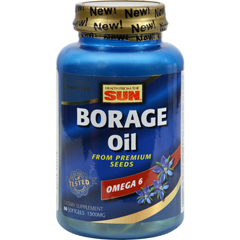 HGR0263681 - Health From The SunHealth From the Sun Borage Oil 300 - 1300 mg - 60 Capsules