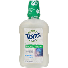 HGR0264705 - Tom's of MaineWicked Pepermint Mouthwash - 16 oz