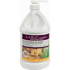 HGR0265405 - Mill CreekBotanicals Aloe Vera and PABA Moisturizing Lotion - 64 fl oz