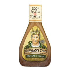 HGR0266668 - Newman's Own Organics - Red Wine Dressing - Vinegar and Olive Oil - Case of 6 - 16 Fl oz..