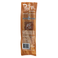 HGR0267294 - Primal Strips - Vegan Jerky - Meatless - Soy - Hickory Smoked - 1 oz.. - Case of 24