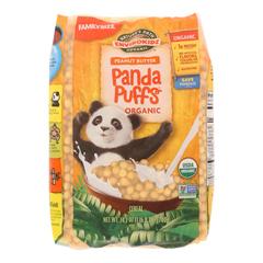 HGR0268037 - Nature's Path - Envirokidz Panda Puffs Cereal - Peanut Butter - Case of 6 - 24.7 oz..