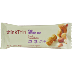 HGR0269878 - Think Products - Thin Bar - Chunky Peanut Butter - Case of 10 - 2.1 oz