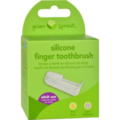 HGR0270710 - Green SproutsSilicone Finger Toothbrush