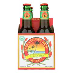 HGR0271684 - Reed's Ginger Beer - Ginger Brew - Extra - Case of 6 - 12 Fl oz..