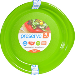 HGR0274928 - PreserveEveryday Plates - Apple Green - Case of 8 - 4 Pack - 9.5 in