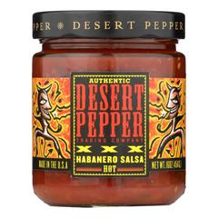 HGR0275073 - Desert Pepper Trading - Xxxtra Hot Habanero Salsa - Case of 6 - 16 oz..