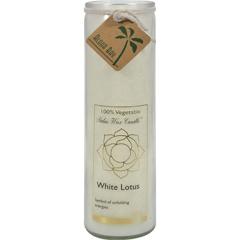 HGR0278275 - Aloha Bay - Chakra Candle Jar, White Lotus - 16 oz.