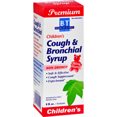 HGR0278689 - Boericke and TafelChildrens Cough and Bronchial Syrup - 8 fl oz