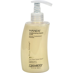 HGR0279786 - Giovanni Hair Care ProductsGiovanni Hands Liquid Soap Tea Tree Triple Treat - 10 fl oz