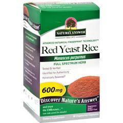 HGR0282418 - Nature's AnswerRed Yeast Rice - 90 Vegetarian Capsules