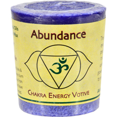 HGR0284760 - Aloha BayChakra Votive Candle - Abundance - Case of 12 - 2 oz