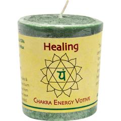 HGR0284786 - Aloha BayChakra Votive Candle - Healing - Case of 12 - 2 oz
