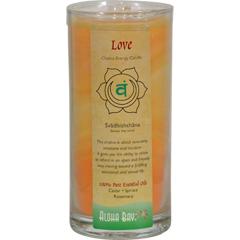 HGR0285163 - Aloha Bay - Chakra Candle Jar Love - 11 oz