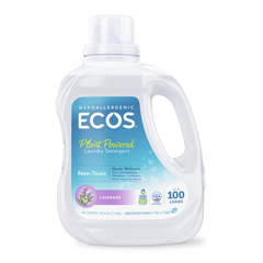HGR0285346 - Earth Friendly Products - Ecos Ultra 2x All Natural Laundry Detergent - Lavender - Case of 4 - 100 fl oz