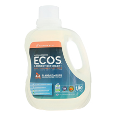 HGR0285577 - Earth Friendly Products - Ecos 2X Ultra Liquid Laundry Detergent - Magnolia and Lily - Case of 4 - 100 fl oz.