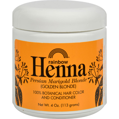 HGR0286005 - Rainbow ResearchHenna Hair Color and Conditioner Persian Marigold Blonde Golden Blonde - 4 oz