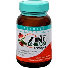 HGR0286765 - Quantum ResearchThera Zinc Echinacea Lozenges Cherry Mint - 48 Lozenges