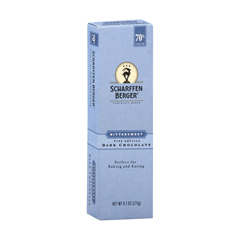 HGR0294975 - Scharffen Berger - Bittersweet 70 Percent Cacao Fine Artisan Dark Chocolate Bar - Case of 6 - 9.7 oz..