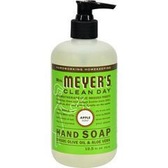 HGR0295006 - Mrs. Meyer'sLiquid Hand Soap - Apple - Case of 6 - 12.5 oz