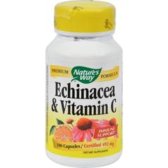 HGR0298208 - Nature's WayEchinacea and Vitamin C - 492 mg - 100 Capsules
