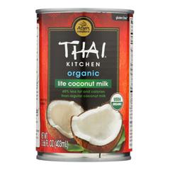 HGR0298232 - Thai Kitchen - Organic Lite Coconut Milk - Case of 12 - 13.66 Fl oz..