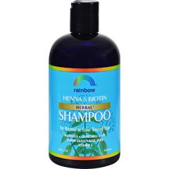 HGR0298703 - Rainbow ResearchOrganic Herbal Henna Boitin Shampoo - 12 fl oz