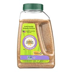HGR0300236 - Florida Crystals - Demerara Sugar Packets - Demerara - Case of 6 - 44 oz..
