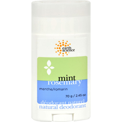 HGR0301630 - Earth ScienceDeodorant Natural Mint Rosemary - 2.5 oz