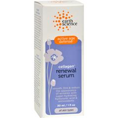 HGR0301812 - Earth ScienceActive Age Defense Cellagen Renewal Serum - 1 fl oz