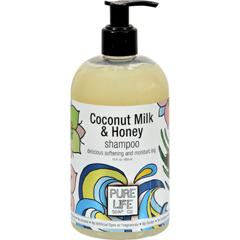 HGR0303800 - Pure LifeSoap Shampoo - Coconut Milk and Honey - 15 fl oz