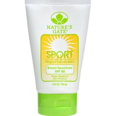 HGR0305045 - Nature's GateSport Block Sunblock Fragrance-Free SPF 50 - 4 fl oz