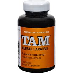 HGR0307207 - American HealthTam Herbal Laxative - 250 Tablets
