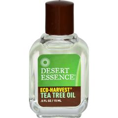 HGR0308163 - Desert Essence - Eco Harvest Tea Tree Oil - .5 oz