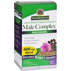HGR0309567 - Nature's AnswerMale Complex - 90 vcaps