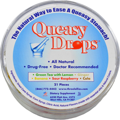 HGR0313510 - Three LolliesQueasy Drops - Container - 21 Pack
