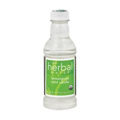 HGR0314872 - Ayala's - Herbal Water - Still Lemongrass Mint Vanilla - Case of 12 - 16 Fl oz..