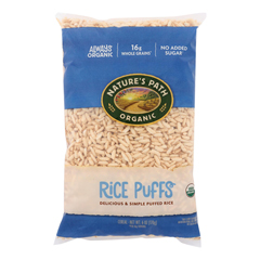 HGR0314971 - Nature's Path - Organic Rice Puffs Cereal - Case of 12 - 6 oz..