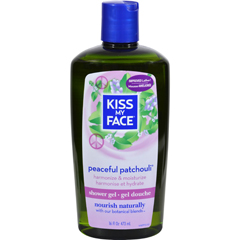 HGR0315283 - Kiss My FaceBath and Shower Gel Peaceful Patchouli - 16 fl oz