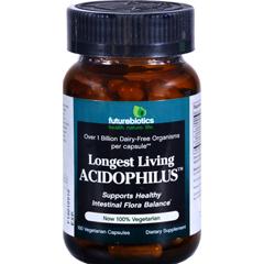HGR0317727 - FutureBioticsLongest Living Acidophilus - 1 billion CFUs - 100 Vegetarian Capsules
