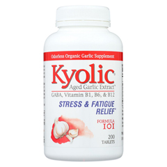 HGR0317909 - KyolicAged Garlic Extract Stress and Fatigue Relief Formula 101 - 200 Tablets