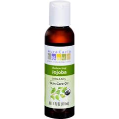HGR0318758 - Aura CaciaOrganic Aromatherapy Jojoba Oil - 4 fl oz