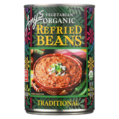 HGR0319657 - Amy's - Organic Traditional Refried Beans - Case of 12 - 15.4 oz.