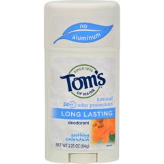 HGR0320549 - Tom's of MaineNatural Long-Lasting Deodorant Stick Calendula - 2.25 oz - Case of 6