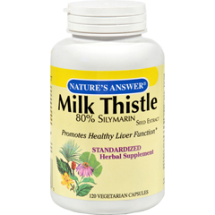 HGR0320580 - Nature's AnswerMilk Thistle Seed Extract - 120 Vegetarian Capsules