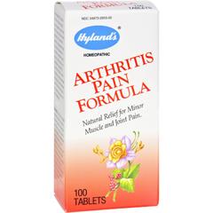HGR0322446 - Hyland'sHylands Homeopathic Arthritis Pain Formula - 100 Tablets