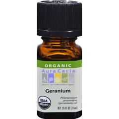 HGR0323477 - Aura CaciaOrganic Geranium - .25 oz