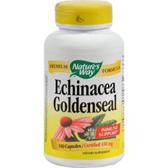 HGR0324368 - Nature's WayEchinacea Goldenseal - 180 Capsules